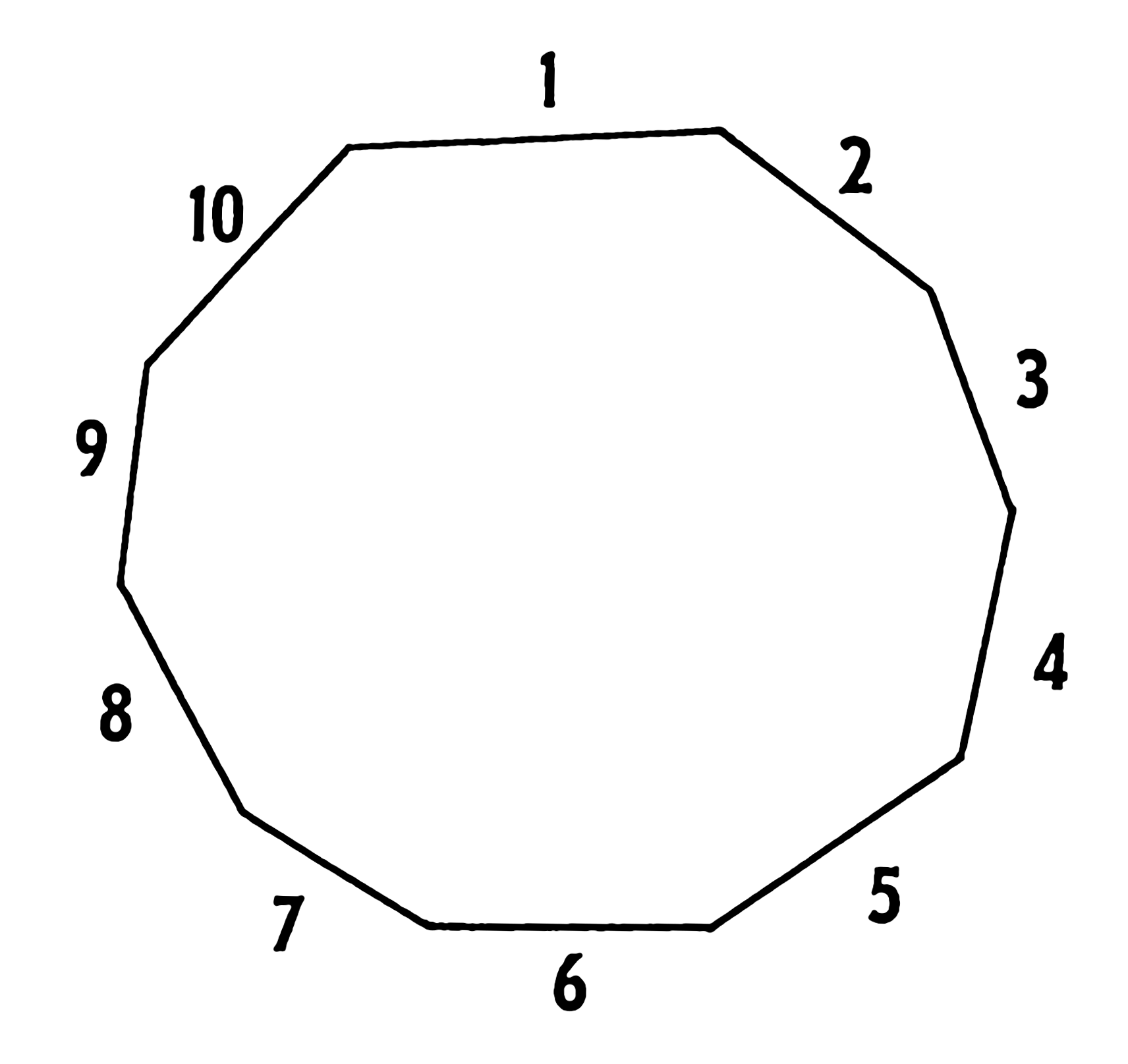 Google images for What is the exterior angle of a regular decagon
