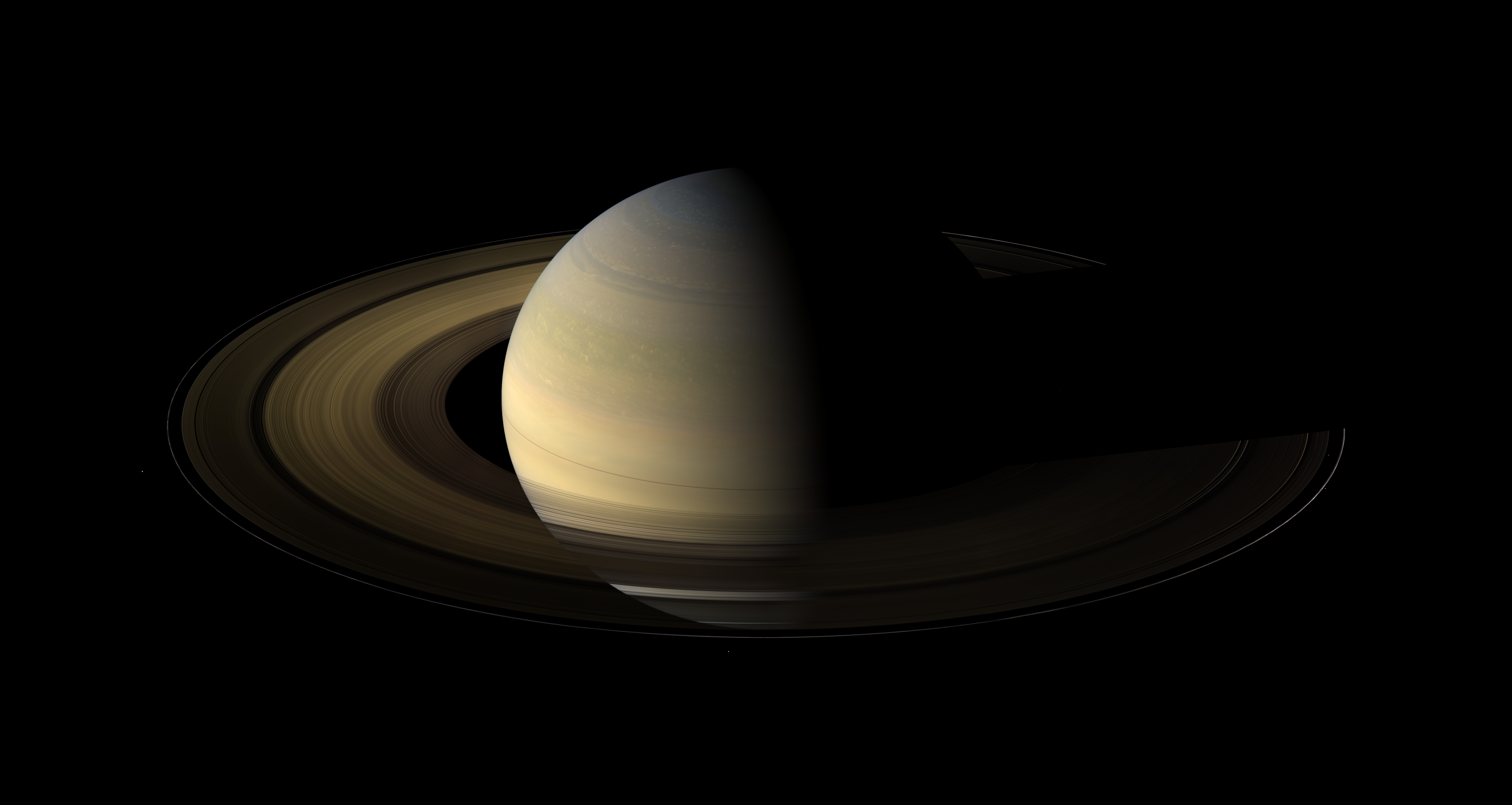 saturn moons and rings - photo #6