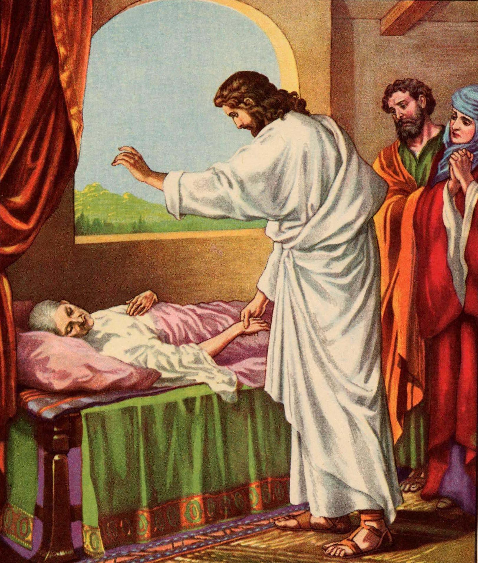 jesus heals the mother in law of peter 001 jpg