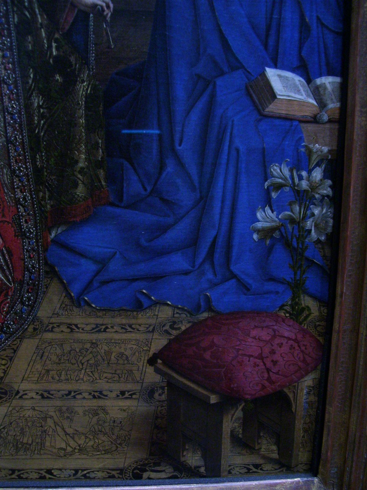 fileannunciation lily and the floor jan van eyck