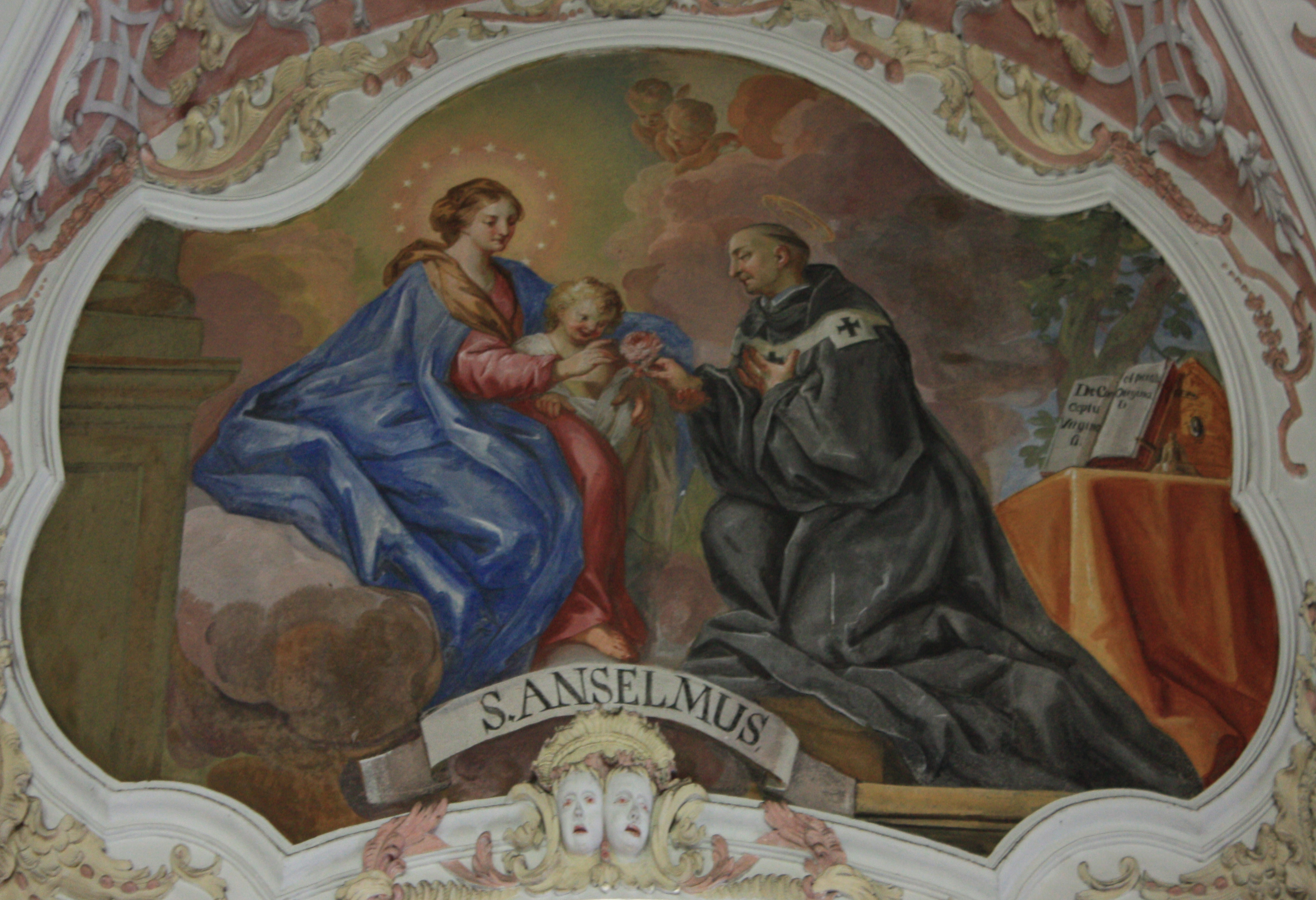 saint anselms image of god I acknowledge, lord, and i give thanks that you have created in me this your image, so that i can remember you, think anselm now proceeds to deduce god's nature from the same basic definition of him as something greater than which cannot be for as saint augustine says.