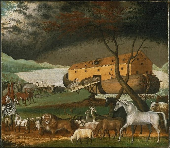 Edward hicks noahs ark