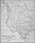 Territory Claimed by Texas when admitted into the Union 1845 A.D. 001.JPG