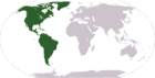 Location of the Continents of North America and South America.png