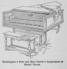 Washington's flute and Miss Custis's harpsichord at Mount Vernon 001.JPG