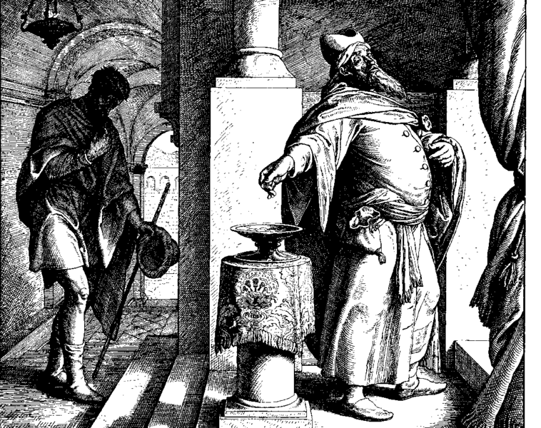 Parable of the pharisee and tax collector - 5 10