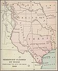 Map of Territory Claimed by Texas When Admitted Into the Union in 1845 A.D. 001.jpg